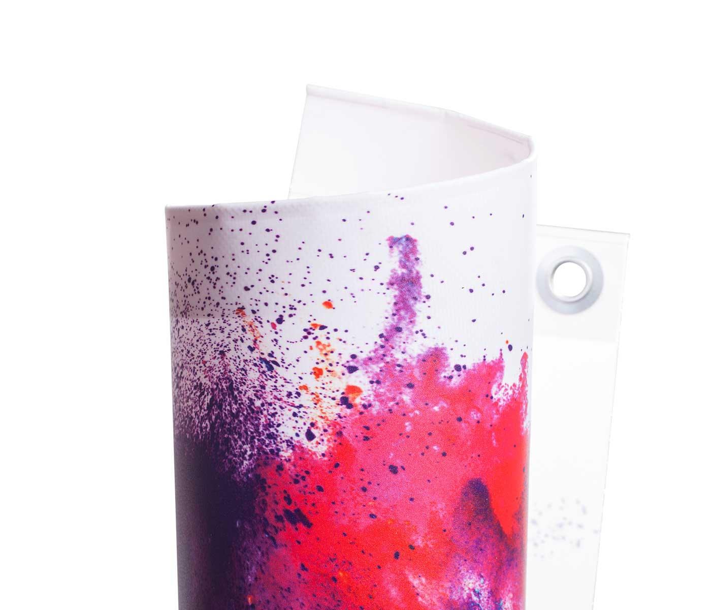 Produktbild Detailaufnahme PVC Backlight Material